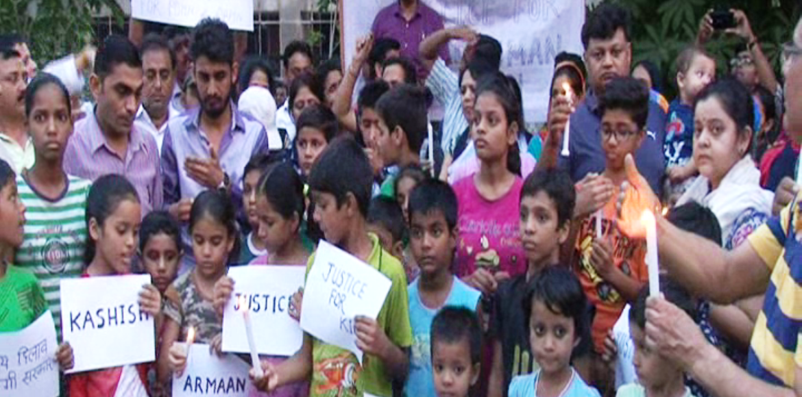 Noida parents' association takes out candle march