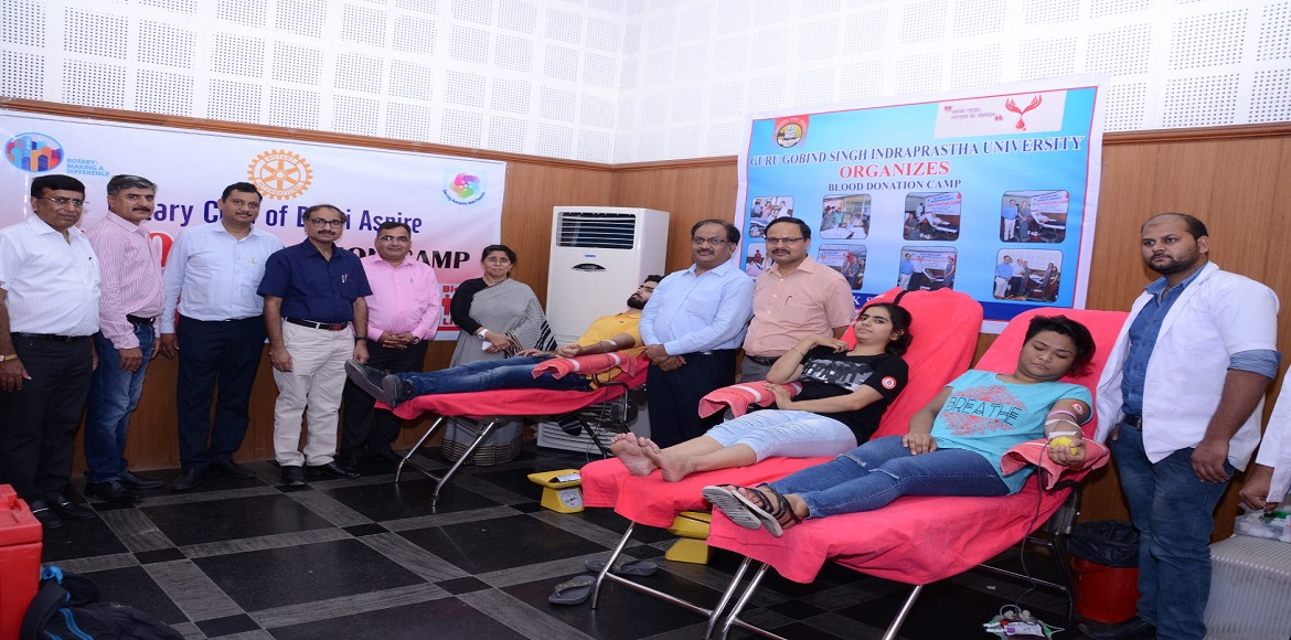 Dwarka residents line up for blood donation