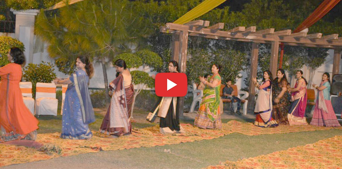 WATCH: Traditional Garba grips Saya Zenith, I'puram