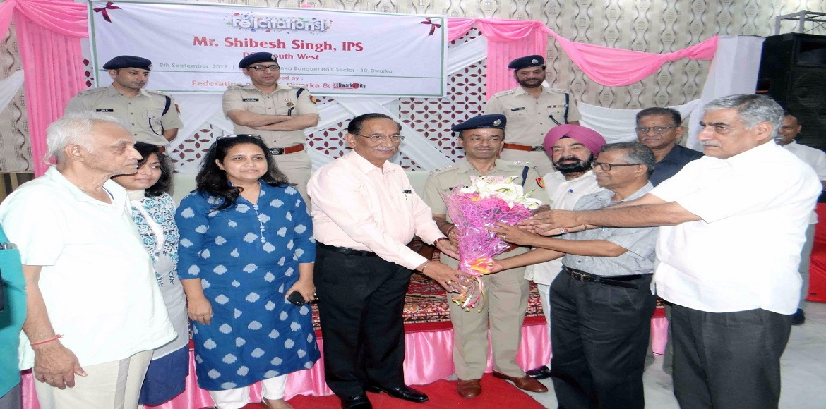 Dwarka top cop promises help for all well-meaning initiatives