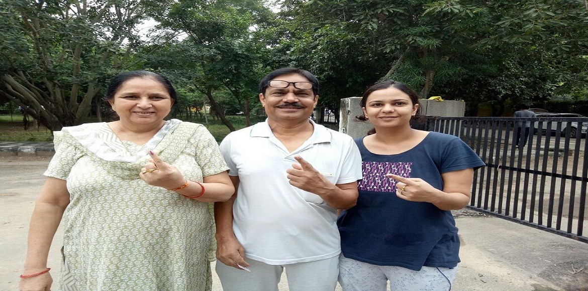 How did the MCG polls turn out in Gurgaon?