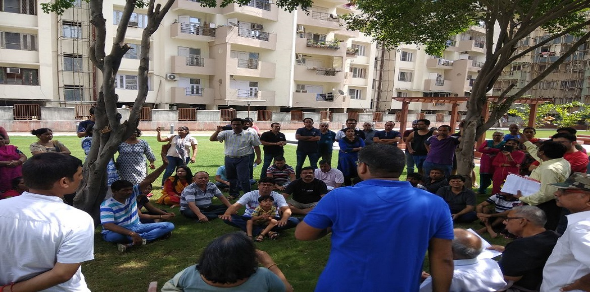Niho Scottish Gardens residents up in arms against its AOA
