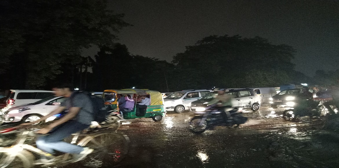It rained, and of course Gurgaon couldn't handle it