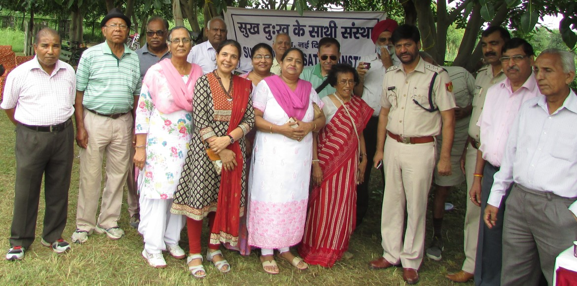 Dwarka: Community gathers at Sector 23 to mull greening ideas