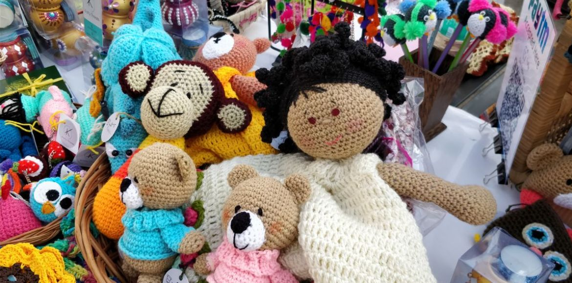 How about quirky crochet toys this Diwali?