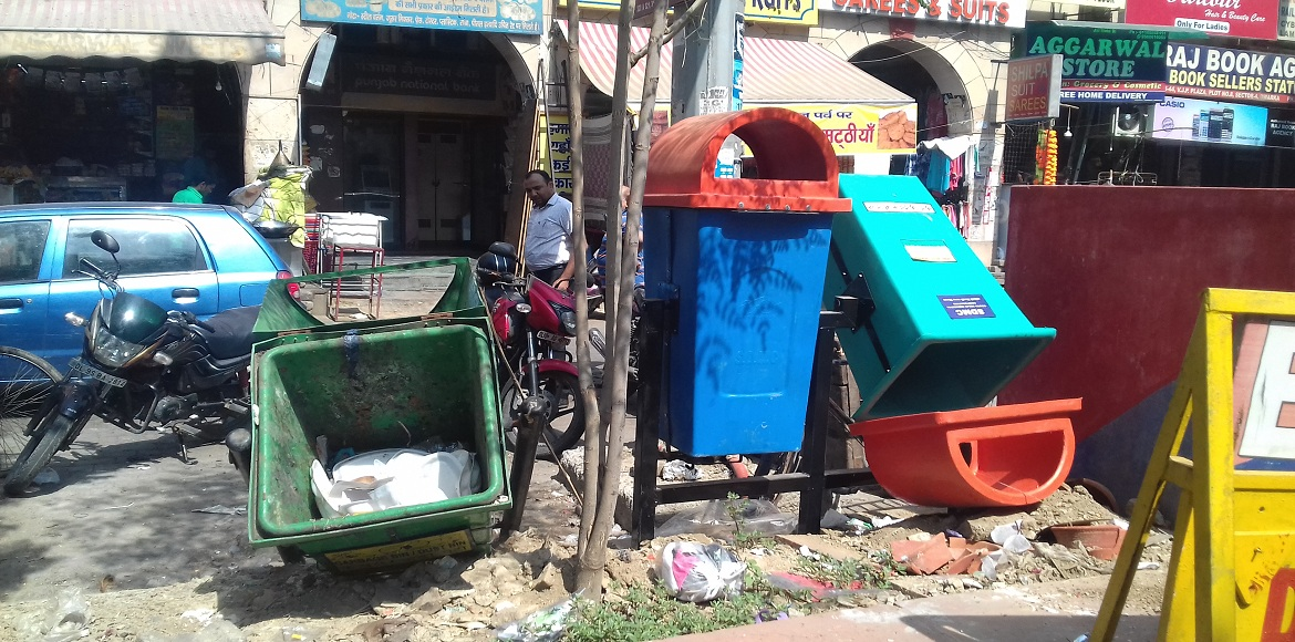 The unclean reality of Clean India campaign in Dwarka