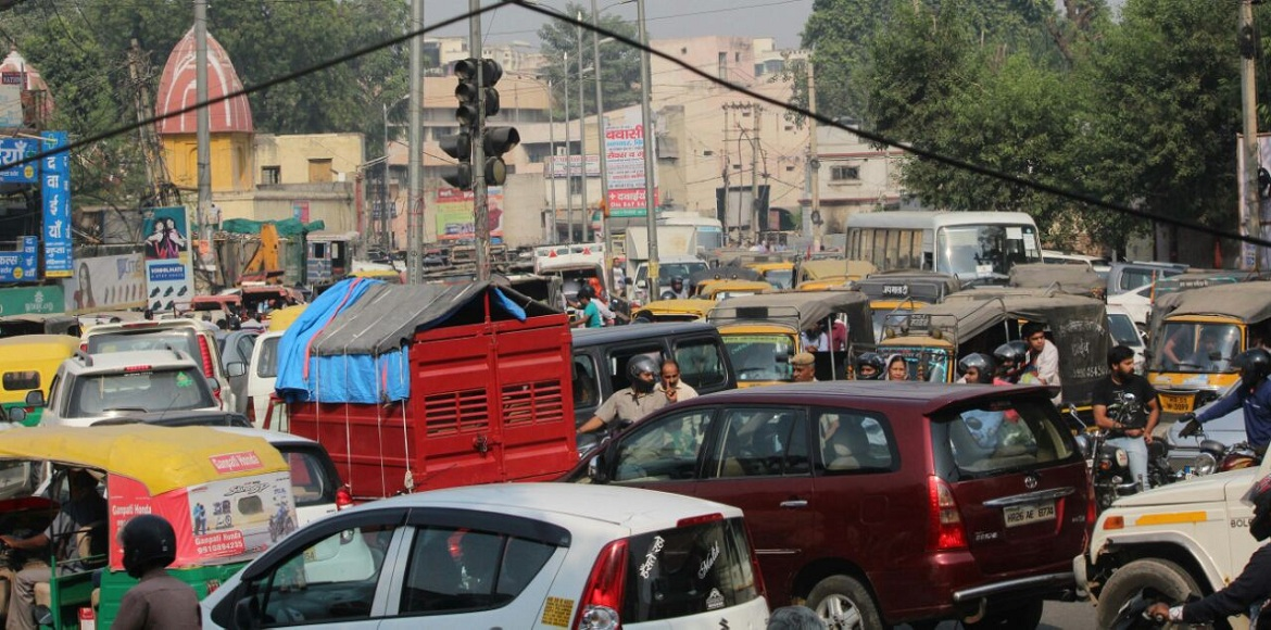 Cracker ban and traffic jams have not deterred the Diwali fervour in Gurgaon