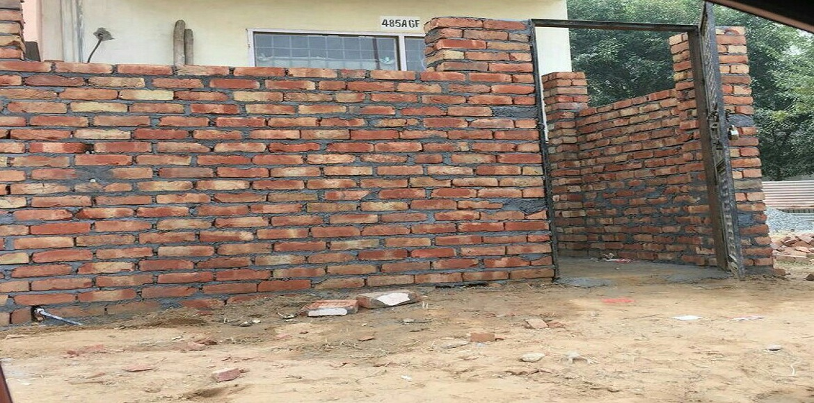 Gurgaon: Illegal construction blocks pedestrian way in Suncity Township