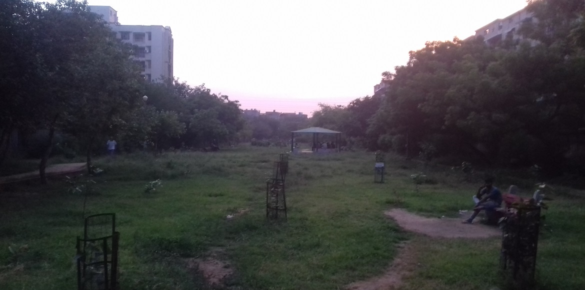 Diwali is round the corner, but will these two Dwarka parks see light?