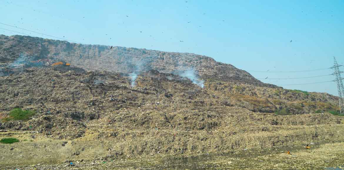 IIT Delhi roped in to stabalise the growing slopes of Ghazipur landfill