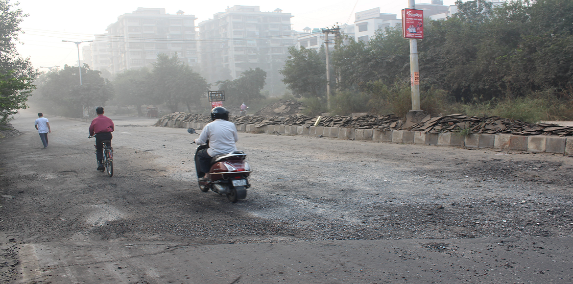 Dwarka: Why the road through Sector 11 is a nightmare...