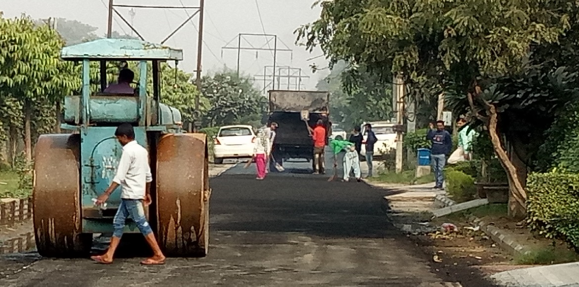 Sec 17B, Gurgaon, will finally get the smooth roads it was waiting for