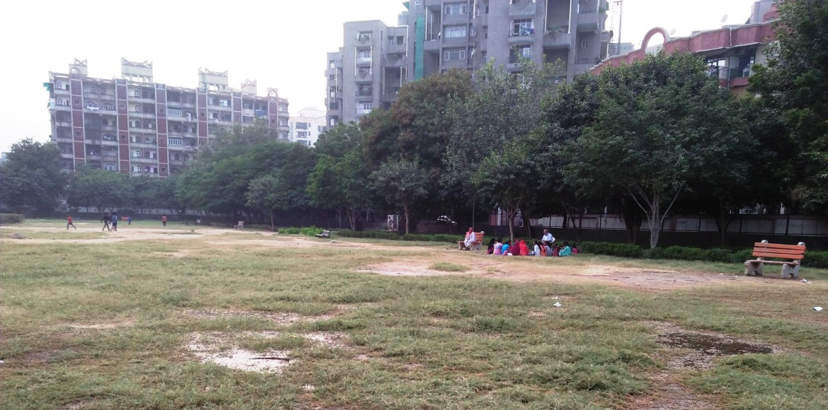 Dwarka: Is the Sector 3 park a park at all!