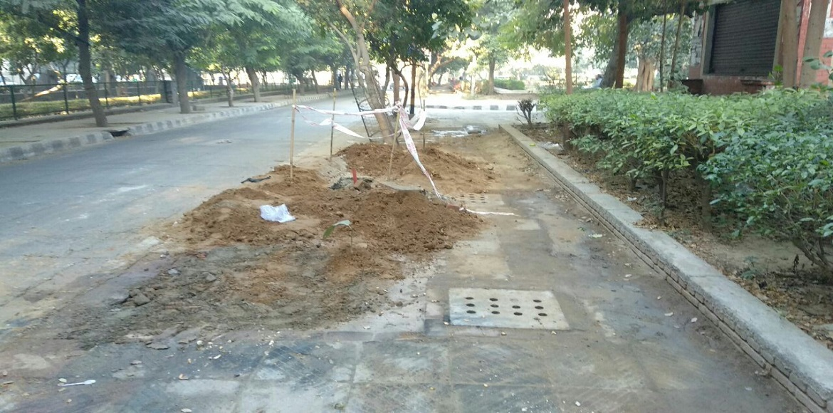 Is there more road restoration happening in Dwarka than required?