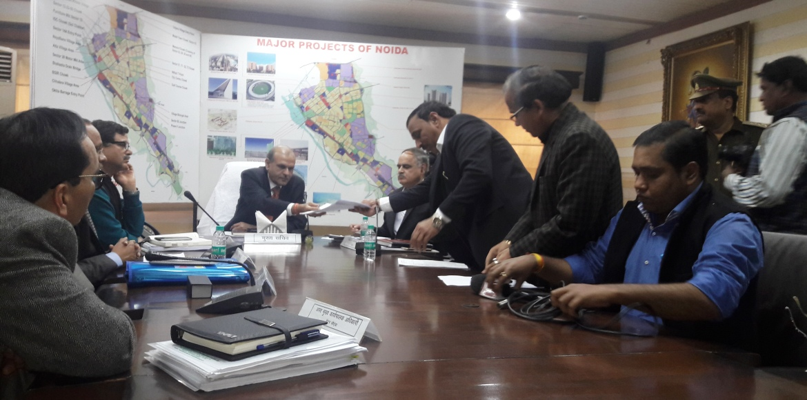 UP chief secretary visits Noida Authority to review builder-buyer woes