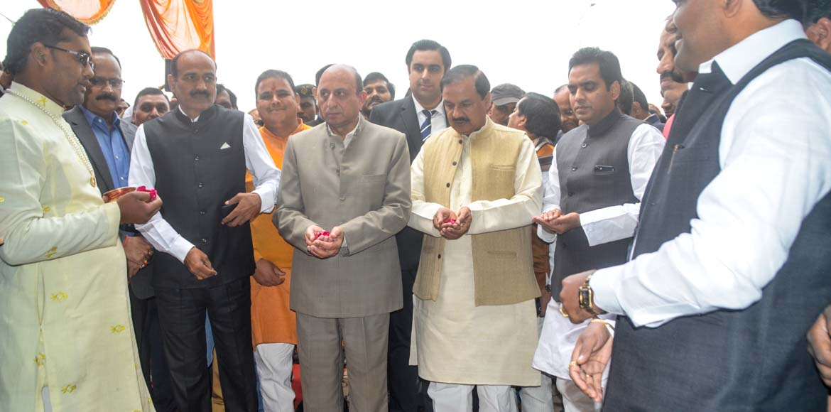 Three mega infrastructure projects inaugurated on UP Divas