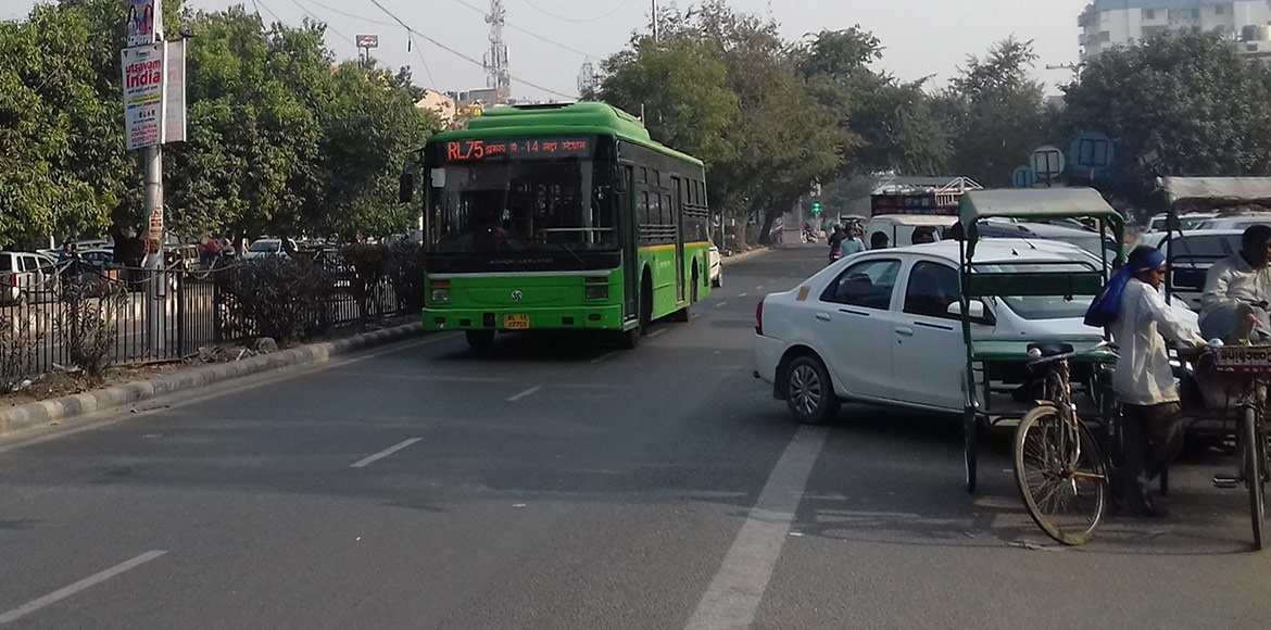 Dwarka: Empty DTC bus depots screech the failure of the public transport system