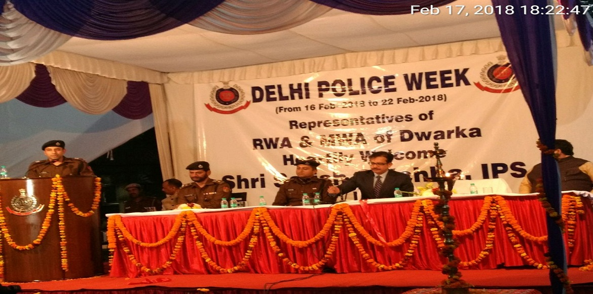 Special Commissioner of Police interacts with RWAs and MWAs of Dwarka