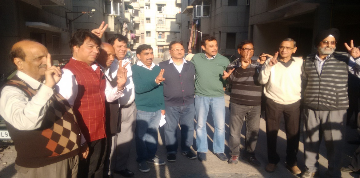 New managing committee elected in Mayur Vihar Ext's Nirman Apartments