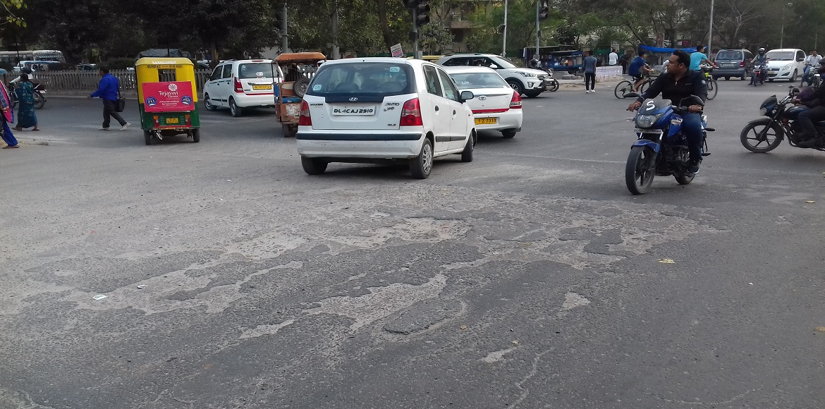 Here is why the damaged roads of Dwarka are lying unrepaired…