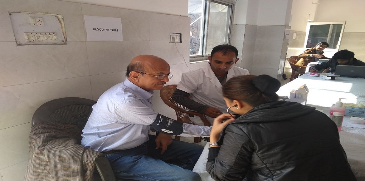 Hundreds benefit from free health check-up camp at