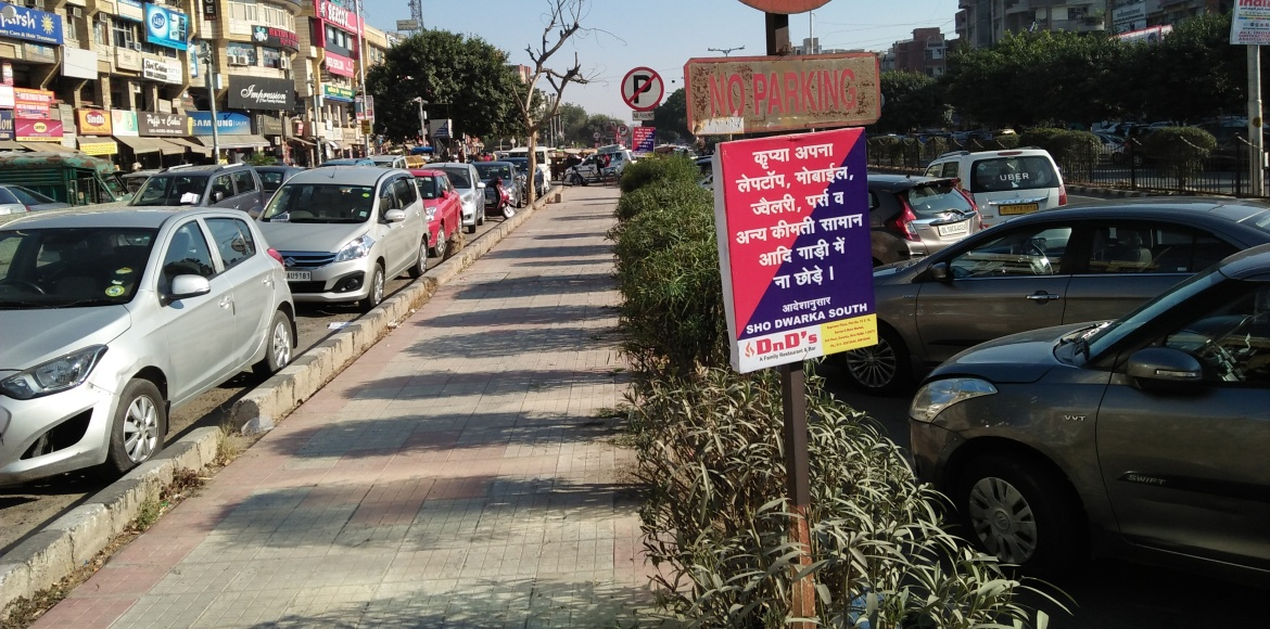 Why people avoid visiting sector markets in Dwarka...