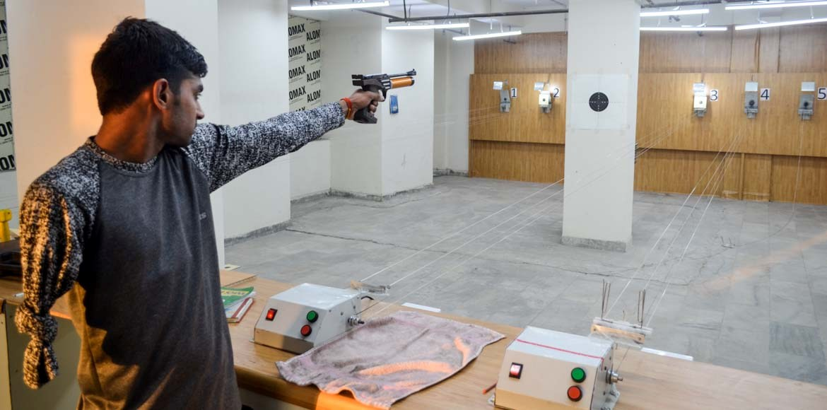 From wage labourer to professional shooter, what is Vishal Kumar Singh's story?