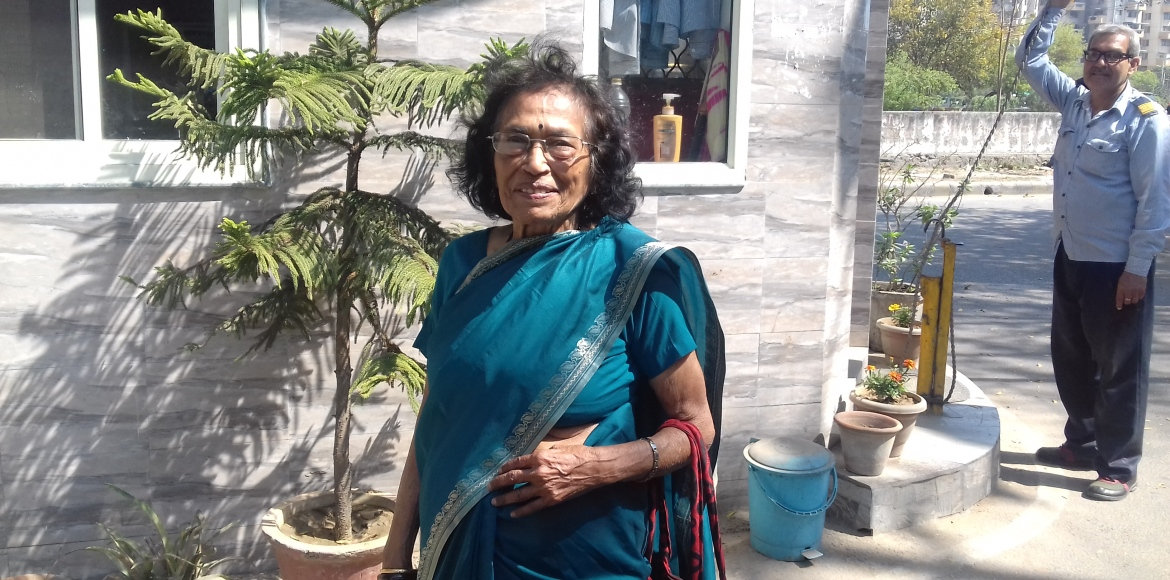WOMEN'S DAY SPECIAL: At 86, she's still raring to go!