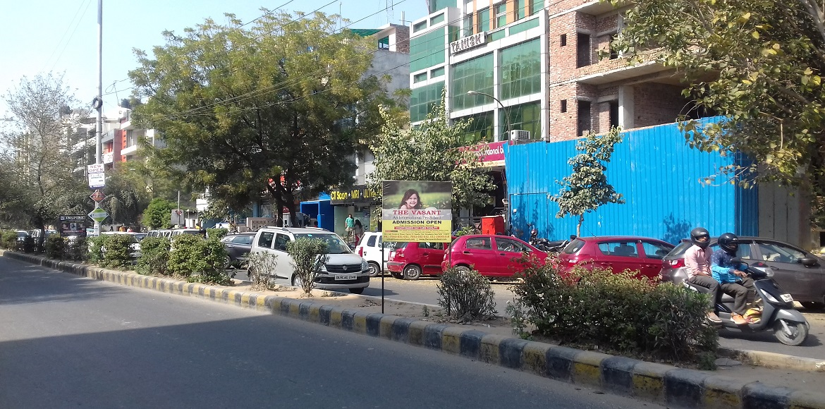 Why is it becoming so hard to drive and walk on the roads of Dwarka Sector 12?