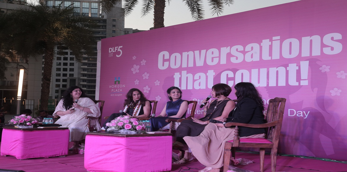 This is how Gurgaon celebrated Women's Day…