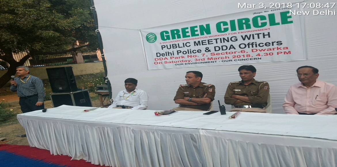 Parks will not turn into drinking dens...DDA and police assure Dwarkaites