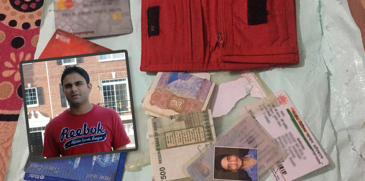 Lost and found: Good samaritan gives Delhi man the surprise of his life!
