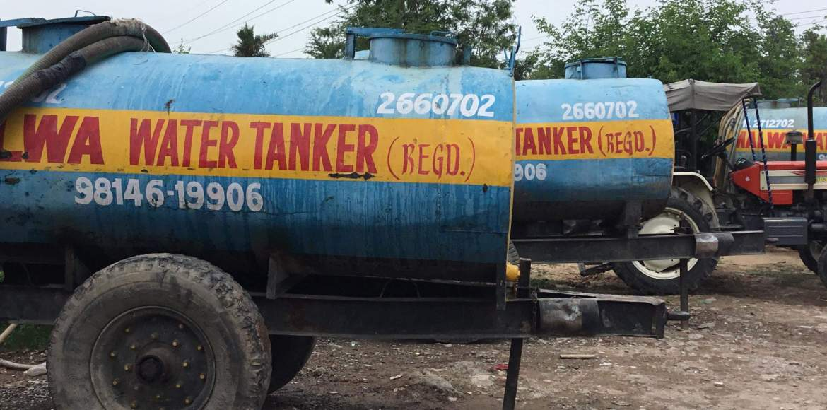 GMDA mandates online booking for water tankers
