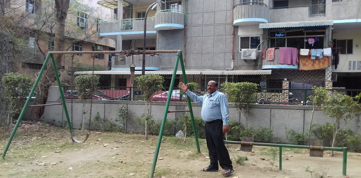 Dwarka, Sector 5: Residents demand open gym and maintenance of parks