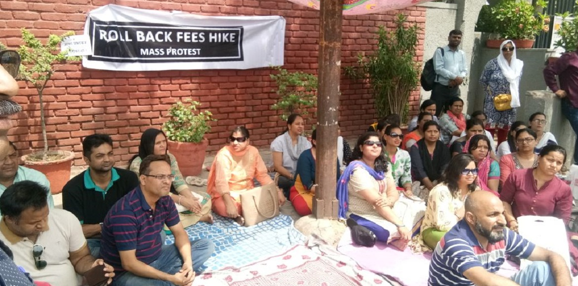 Bal Bharti School protests: Parents allege discrimination against children