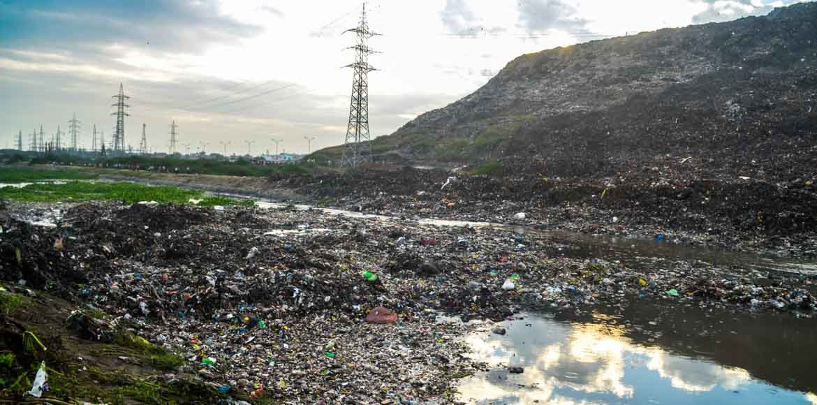 EDMC plea to NGT: Ghazipur landfill site a ticking time bomb
