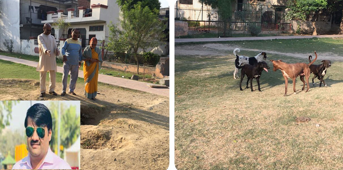 Resident Speak: Rapid deterioration of parks worry Greater Noida residents