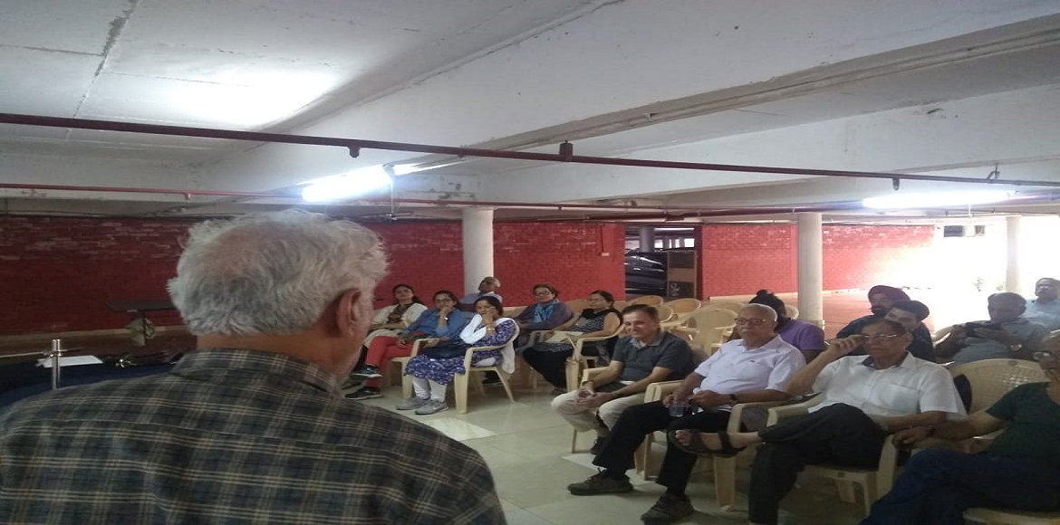 Dwarka Environmental Lecture Series: Rain Water Harvesting