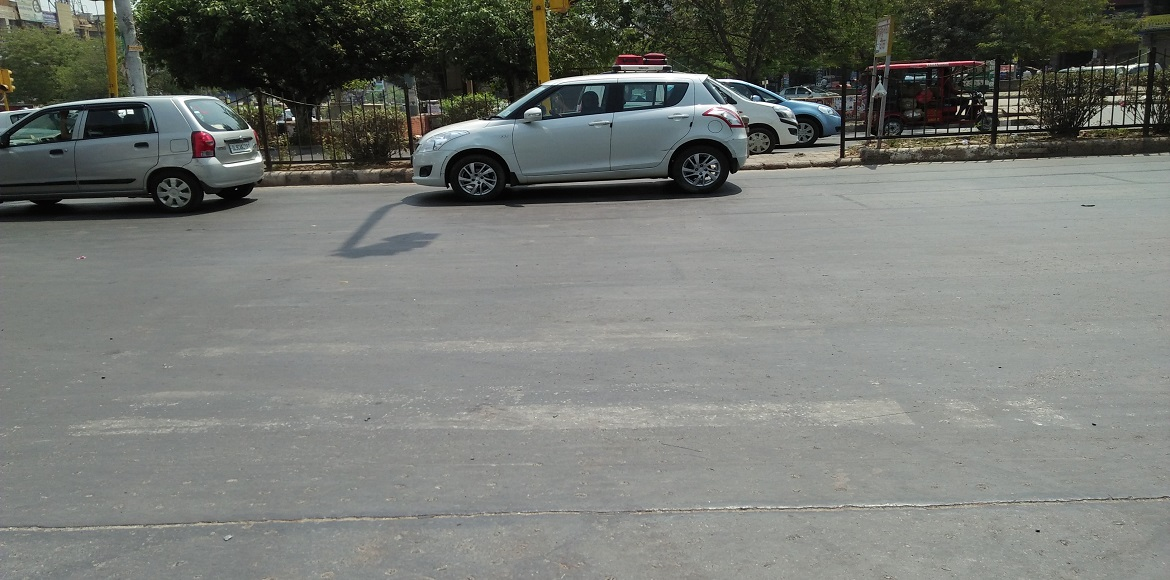 Invisible zebra crossings, speed breakers cause chaos in Dwarka