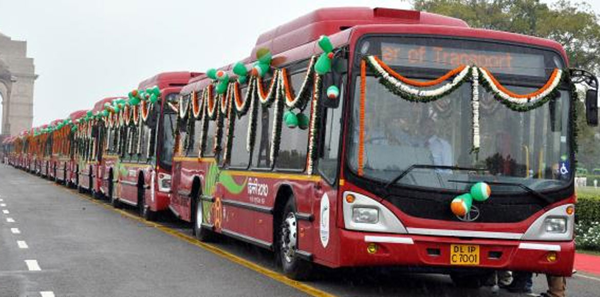 Hundred low-floor buses set to ply on Gurgaon roads from August 15