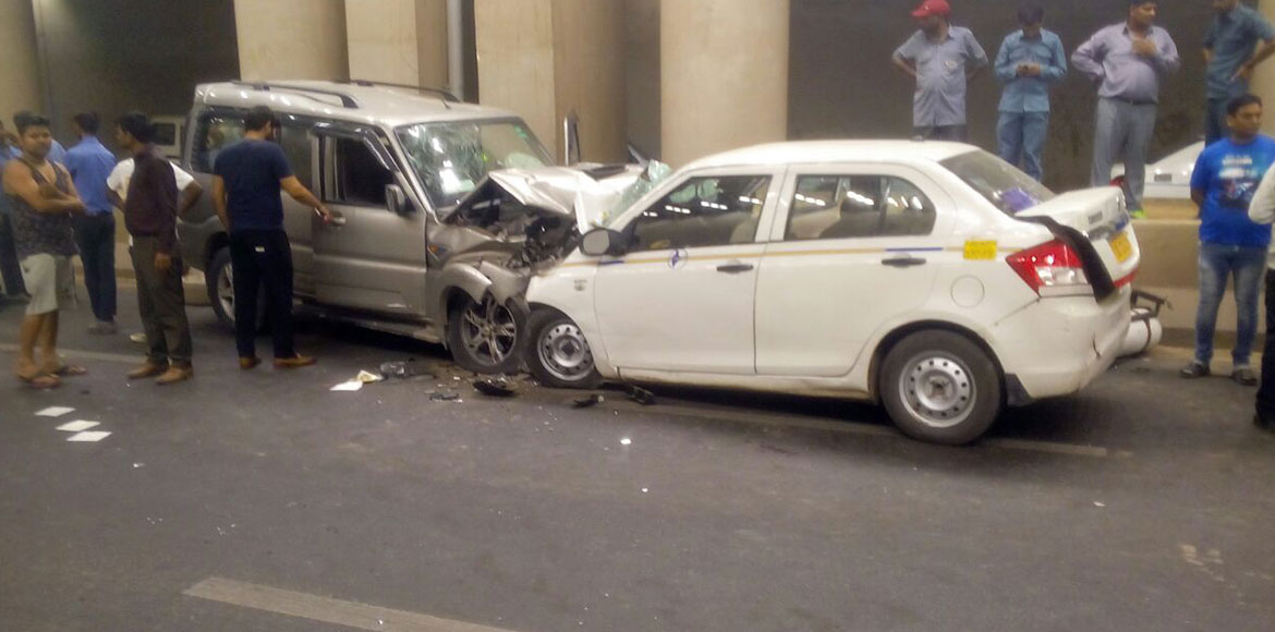 Two dead, Indigo woman pilot critically injured in Gurgaon hit and run accident