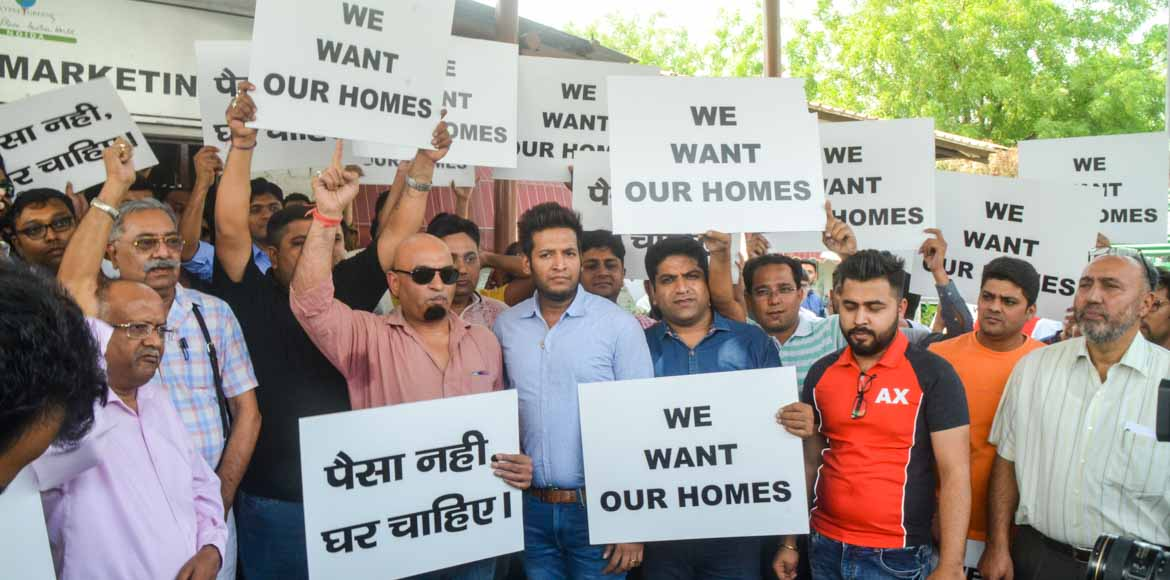 Buyers: Give us our flats, end insolvency proceedings against Jaypee Infratech