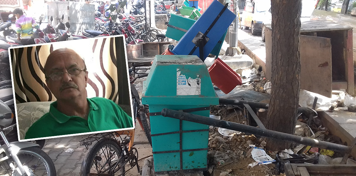 RESIDENT SPEAK: Overflowing bins stink, 'Swachh Bharat Mission' flops in Dwarka