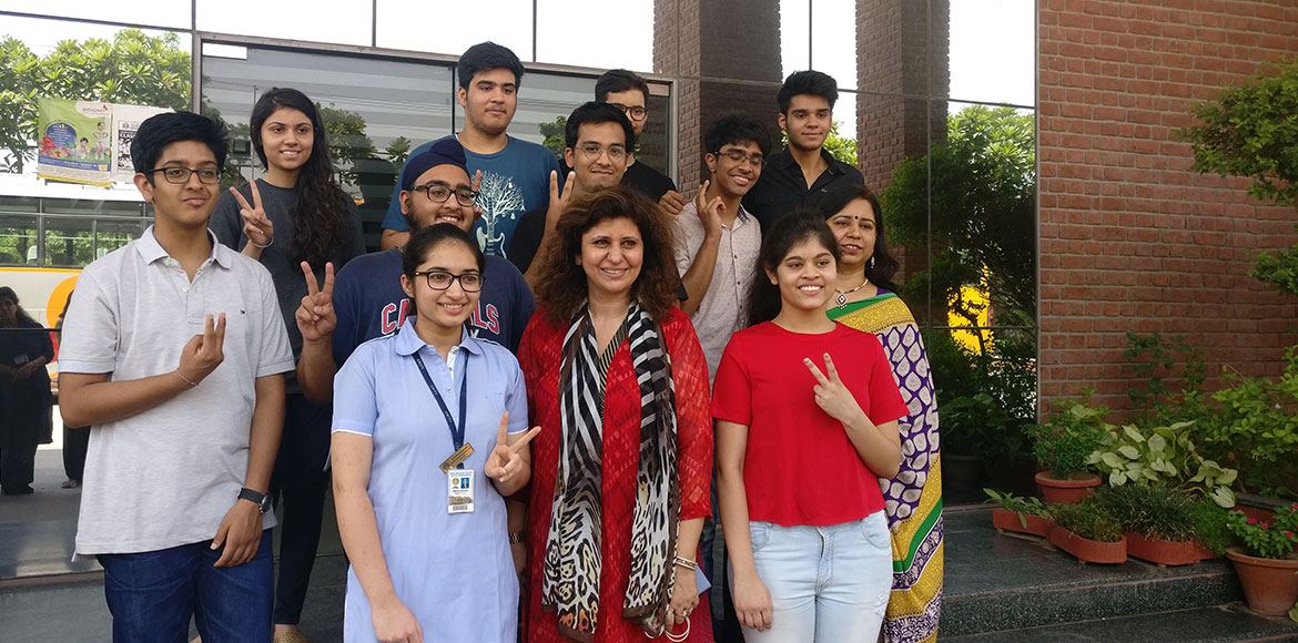 CBSE Class 12 exams: Ggn toppers head for Delhi with no other options in sight