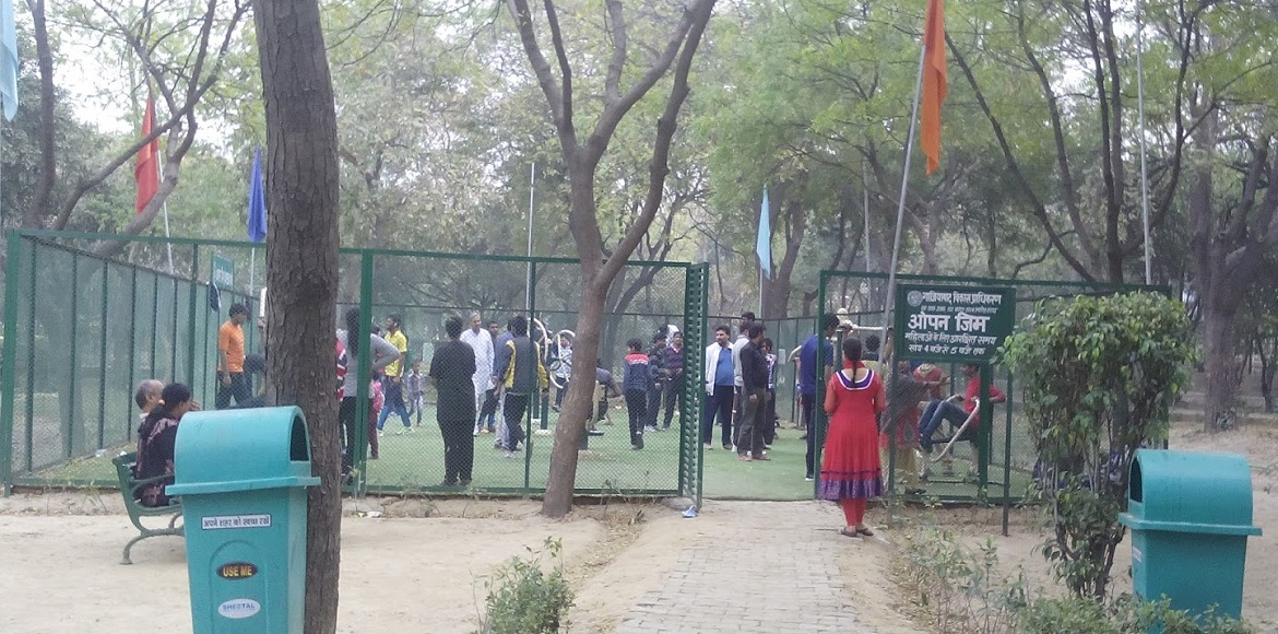 Now, get ready to pay for open gyms at parks in Ghaziabad