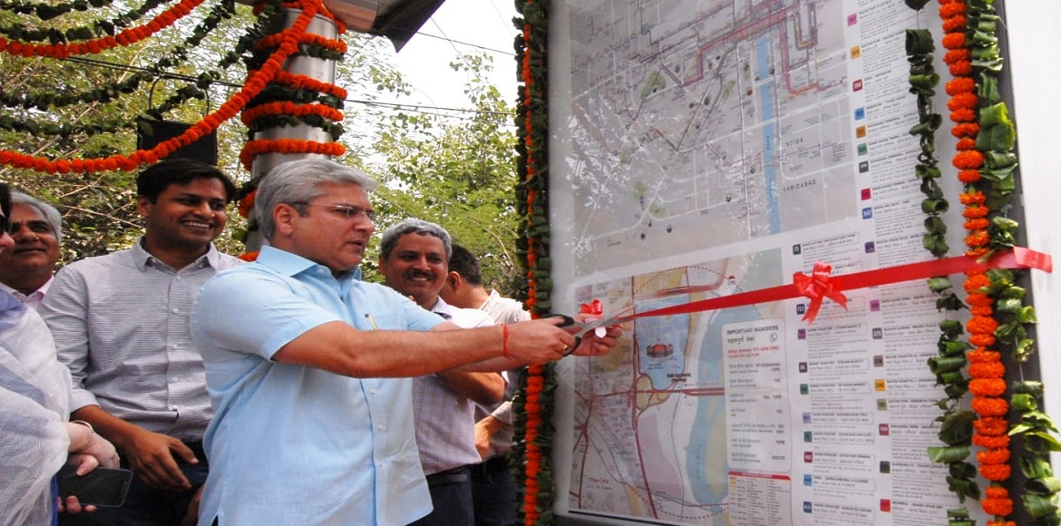 Delhi: Bus shelters to get Integrated Transit Map