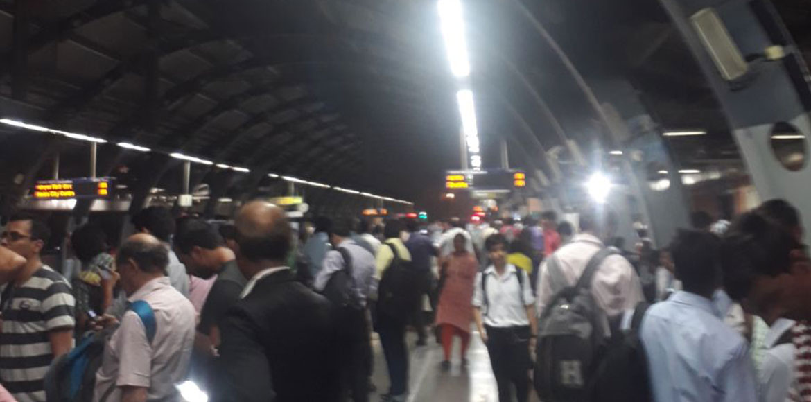 Delhi Metro Blue Line services disrupted as CISF p