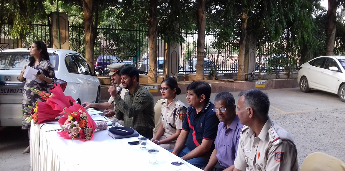 Dwarka: Traffic problems, safety issues discussed in police-public interaction