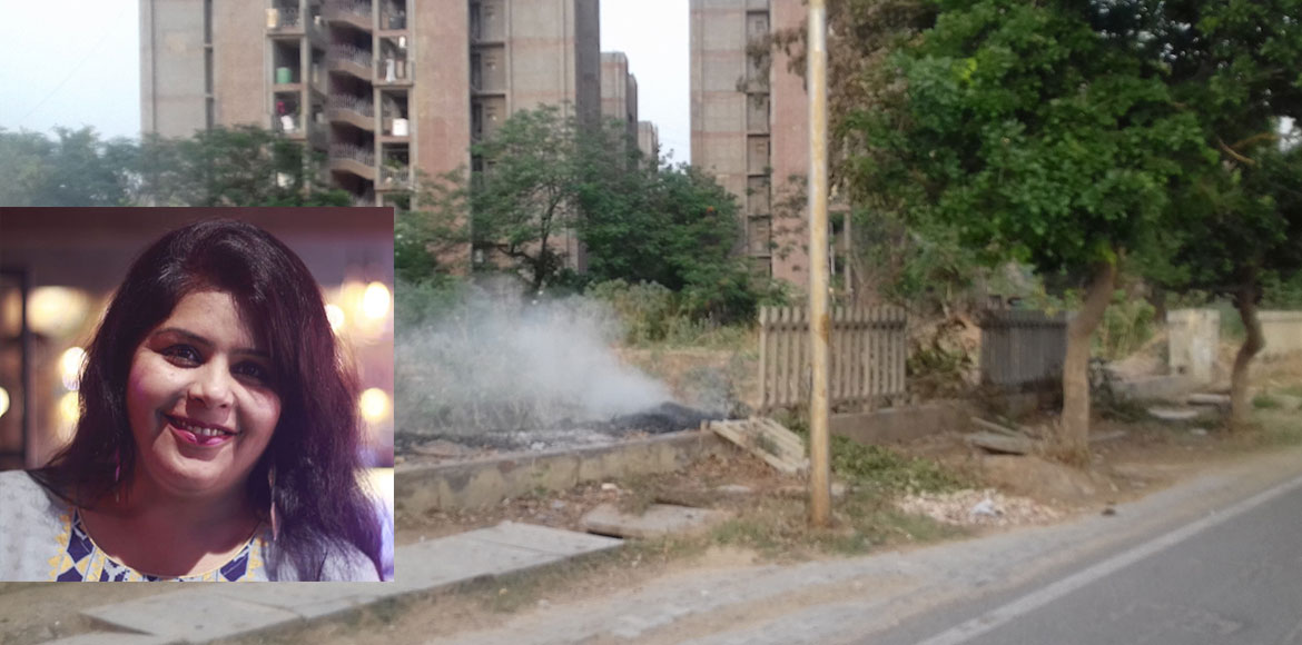 RESIDENT SPEAK: Burning of garbage, dry leaves lead to air pollution in Dwarka