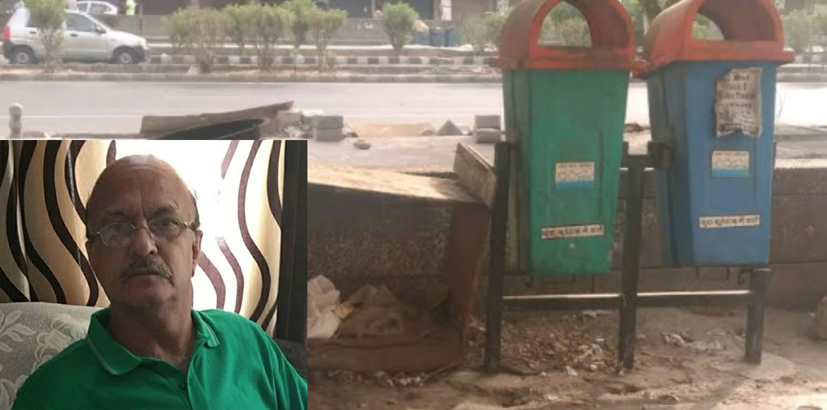 RESIDENT SPEAK: Scattered garbage, encroachment mess up Dwarka Sector 10 market